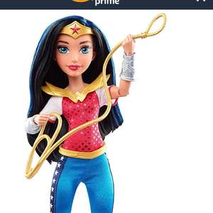 DC SuperHero Girls wonder Women Toy - 12 inch £5.57 @ Amazon Add on item