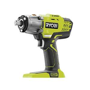 Ryobi ONE+ Impact Wrench (Body only) £69 and other Ryobi ONE+ Deals on Amazon