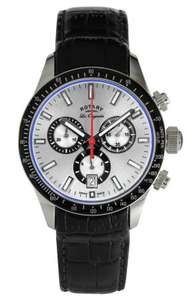 Rotary Swiss Swiss made watch with sapphire glass £119.99 Argos