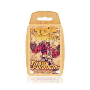 Transformers Retro - Celebrating 30 years Top Trumps Card Game £1.99 @ Amazon - sold by Winning Moves UK