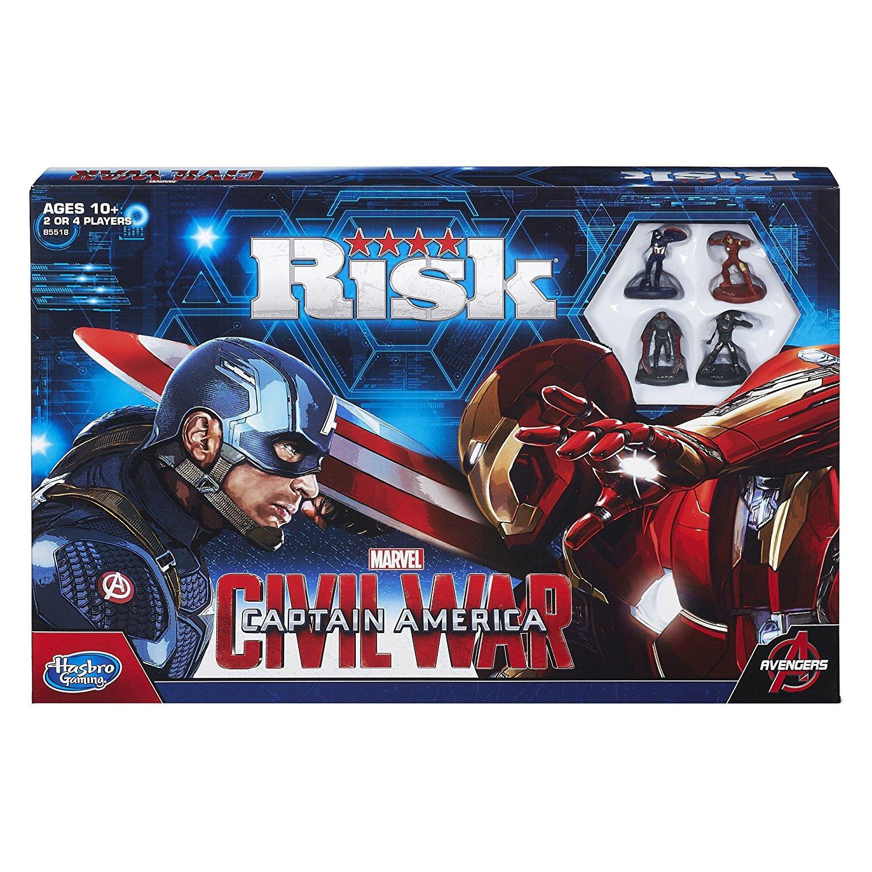 Risk - Captain America Civil War Board Game £9.99 Instore at Home Bargains