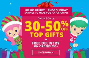 30-50% off Smiggle online only