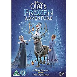 Olaf's Frozen Adventure DVD only on sale in Tesco £5