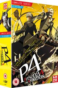 Persona 4 The Animation - Complete Season Box Set - (Episodes 1-25) £29.99 Delivered @ Zavvi