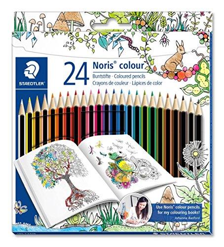 Staedtler 185 C24JB Noris Coloured Pencil, Johanna Basford Design - Assorted Colours, Pack of 24 £3.48 Del Prime / ££7.47 Non Prime (3.31 S &S) @ Amazon