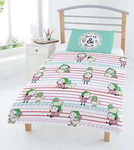Sarah and Duck Bedding Set for £6 @ Argos