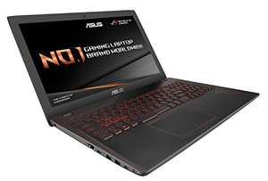 ASUS ROG Strix ZX553VD-DM640T 15.6 inch FHD Gaming Laptop with Gaming Backpack and Mouse and Amazon for £769.99