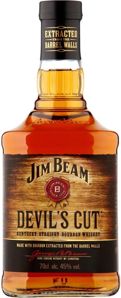 Jim Beam Devils Cut Kentucky Straight Bourbon (ABV 45%) (70cl) was £23.00 now £16.00 (Rollback Deal) @ Asda