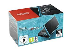 Nintendo Blue 2ds xl (also Super Mario 3D land option) - £124 @ Amazon France