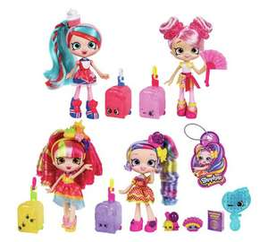 Shopkins Shoppies 4 Doll Pack £33.99 Argos, sell at around £16 per doll!