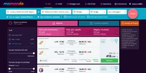ERROR Fares from LHR - MEL return from £416 at  momondo