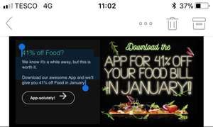 Pizza Hut 41% off Food in January on the Pizza Hut App