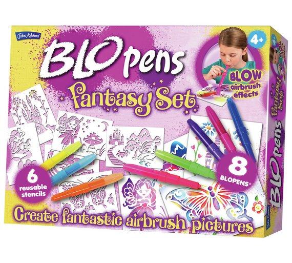 Blo Pens Fantasy set reduced at argos £7.99