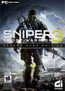 Sniper Ghost Warrior 3 Season Pass Edition (Steam) £7.99/7.59 @ CDKeys