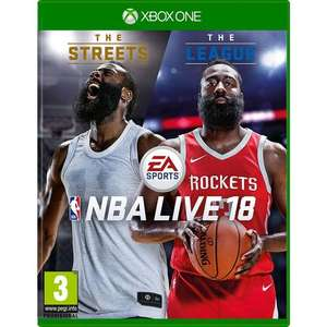 NBA Live 18 (Xbox One) £19.99 -  MyMemory