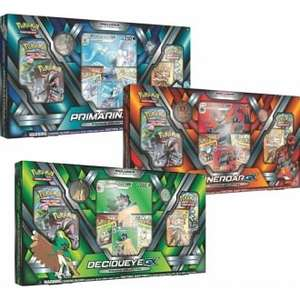 [BACK IN STOCK] Pokemon GX Premium Collections - Set of 3 (Decidueye, Incineroar, Primarina) £44.95 -  Chaos Cards