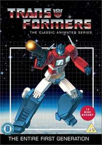 Transformers: The Classic Animated Series 13 Discs DVD Boxset was £33.99 now £11.57 Del with code @ taketimeoutentertainment (Xtravision)