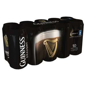 Guinness Draught Cans 20 x 440ml £15 @ Morrisons