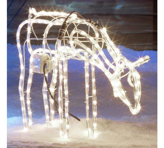 Argos Outdoor animated grazing reindeer - £27.04 delivered with code