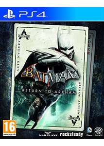 Batman Return to Arkham (PS4) - base.com £13.85