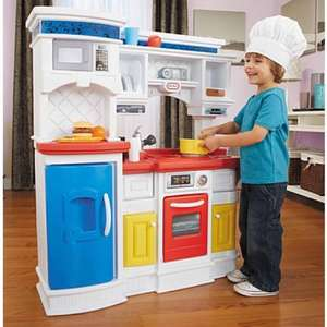 BACK IN STOCK - Little Tikes Gourmet Prep 'n Serve Kitchen £31 plus £5.95 delivery - Asda fee