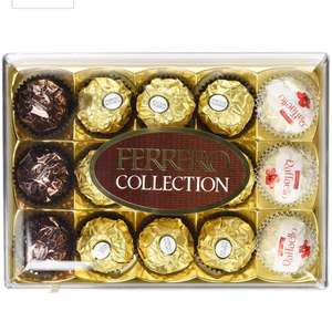 Ferrero rocher 6x15 pieces 90 total £16.49 prime / £21.24 non prime Amazon