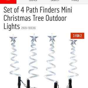 Double Discount - Christmas Decorations / Lights / Trees  3 for 2 + Extra 30% Off with code @ Argos
