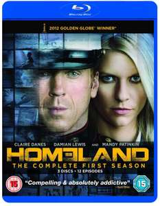 Homeland The Complete First Season, Heroes Season 2 Blu-Ray £1 @ Poundland