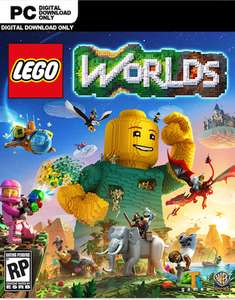 Lego Worlds + DLC - PC - CDKeys - £7.99