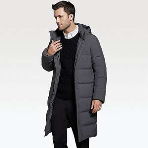 UNIQLO - MEN SEAMLESS DOWN LONG COAT Limited Offer (£50 off) £99.90