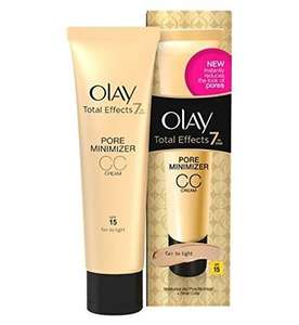 Olay Total Effects 7 In 1 Pore Minimiser CC Cream 50ml, £3.45 + Free Delivery From Book Emporium (Amazon Seller) - Other Olay Total Effects Creams £6 (Prime), £9.99 (Non-Prime) or £5.70 Subscribe And Save