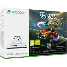 Xbox One S Console 500GB Rocket League + Forza Motorsport 7 + NOW TV @ Game.co.uk for £169.99