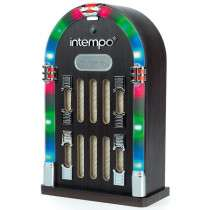 Intempo Mini Jukebox with Bluetooth and LED Lights £29.99 Delivered @ IWOOT