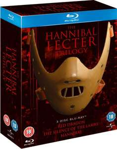 Hannibal Lecter Trilogy BluRay £8.10 with code £10.08 Delivered @ Zavvi