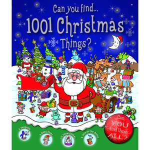 Who's Hiding 1001 Things to Find at Christmas Book £1 @ Wilko