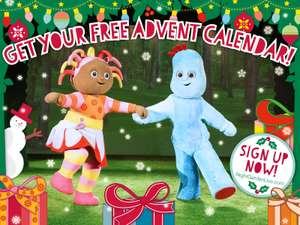 Free Online Advent Calendar - In The Night Garden
