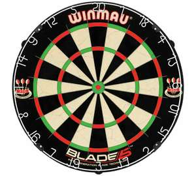 Dartboard Blade 5 dartboard 20% off Argos £25.49
