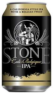 12 cans of Stone Brewing Cali-Belgique Beer Can, 355ml for £18.99 prime / £23.74 non prime  Amazon