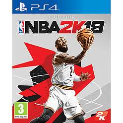 NBA 2K18 PS4 - £34.99 (£32.99 Pre Ownded) @ Game