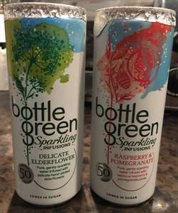 Bottle Green Sparkling Infusions 4 for a £1 at Heron Foods