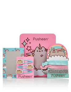 Pusheen Hair Tin (Was £10) Now £5 / Pusheen Makeup Palette (was £12.50) Now £6.25 at M&S (links in post)