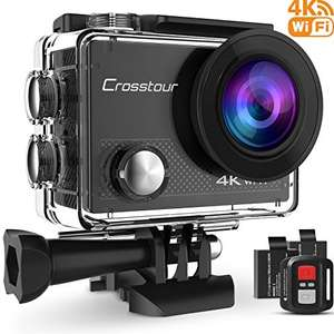 Crosstour 4K Wi-Fi Action Camera £31.81 Sold by CrosstourDirect and Fulfilled by Amazon - Lightning deal