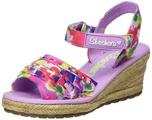 SIZE 11.5 UK CHILD Skechers Girls' Tikis-Ruffle Ups Espadrilles £10.87 PRIME / NON-PRIME £14.86 @ AMAZON