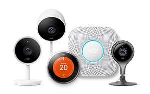Nest Protect Smoke + Carbon Monoxide Alarm + FREE Google Home Mini Speaker £109 /  Nest Cam Indoor Security Camera £159  + FREE Google Home Mini Speaker w/ 2 year guarantee + other models @ John Lewis