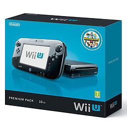 Nintendo Wii U Premium Console 32 GB Black + Super Mario Bros. U + Super Smash Bros. £119.99 (Pre-owned) @ Game