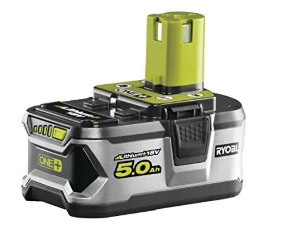 Ryobi RB18L50 ONE+ 5.0 Ah Lithium Battery, 18 V £56 @ Amazon