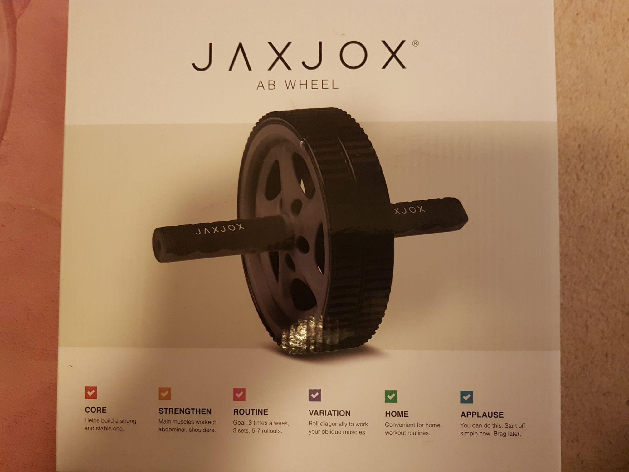 Jaxjox ab wheel £1.25 instore @ Tesco - Ely
