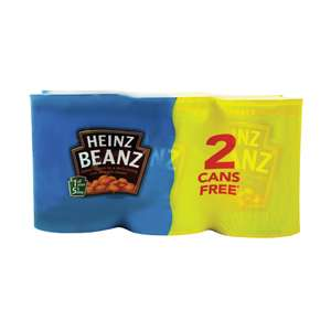 6 Pack Heinz Baked Beans In-store / Online £2.50 @ Iceland