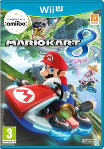 Mario Kart 8 [Wii U] £19.99 (Pre-order) @ Amazon (Add 1p Sim card for free delivery non prime)