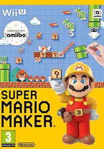 Mario maker for Wii u Amazon for £22.99